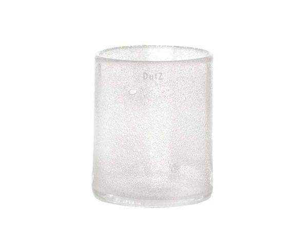 DutZ Windlicht CYLINDER, clear bubbles