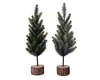Weihnachten Kae PE Minibaum auf Stamm 2s, 30cm assorted