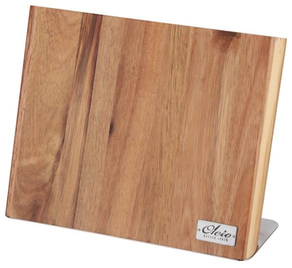 Magnetisches Messerbrett, massiv Holz - Oleio