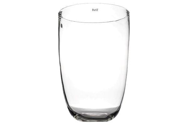 DutZ Vase ANTON H55, Ø35, clear