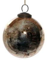 ShiShi GLASKUGEL, antikgold 10cm
